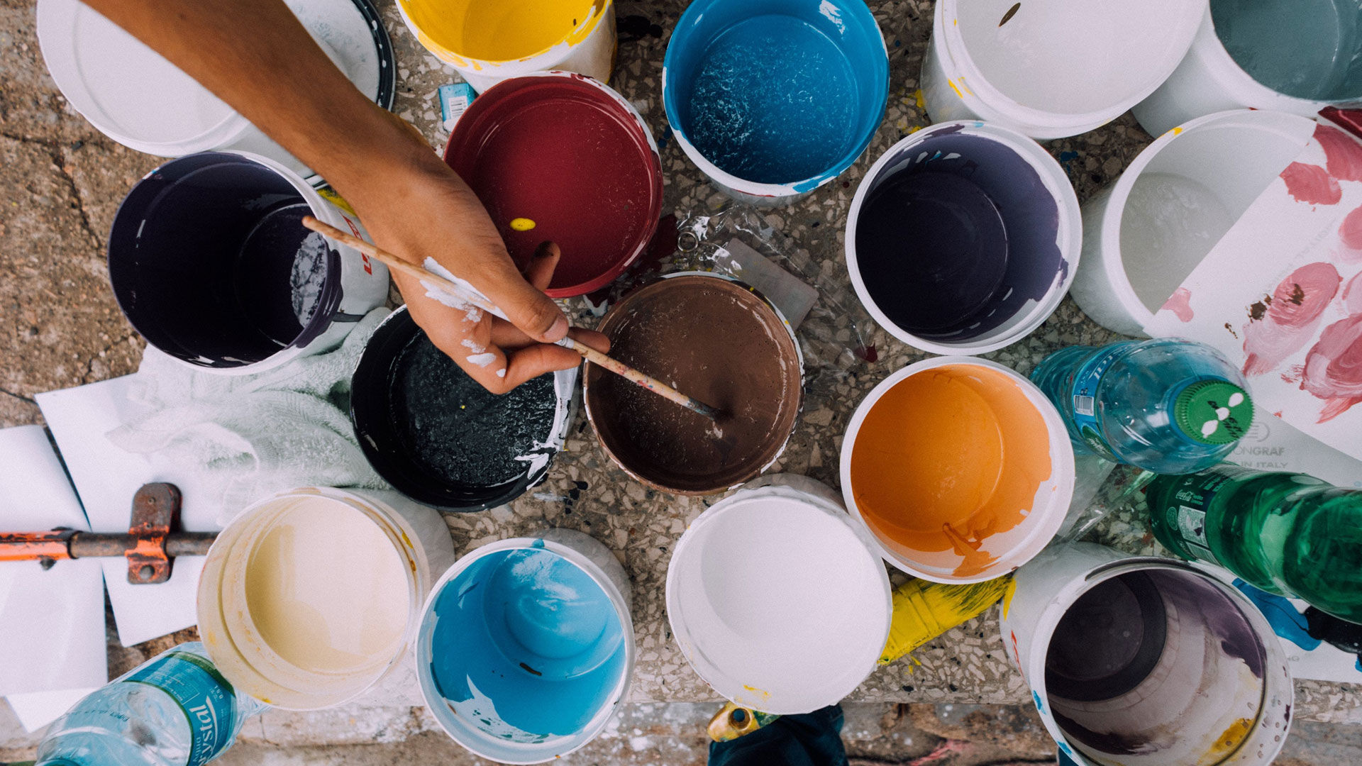 Paint Pottery at the Clay Café